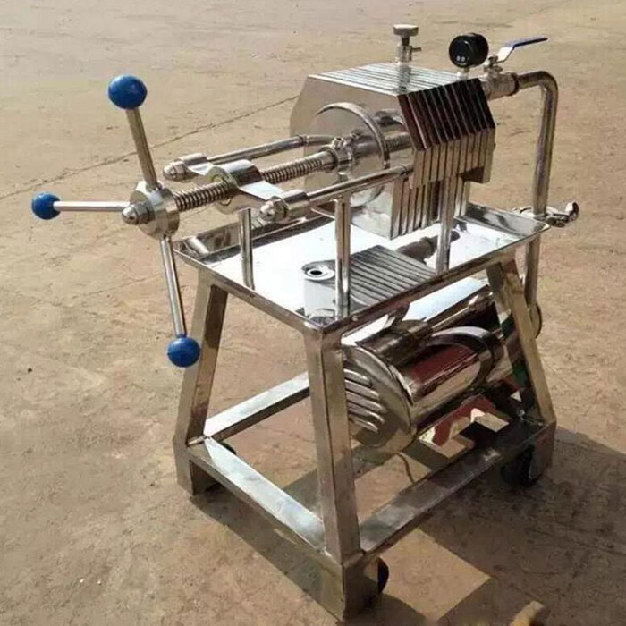Small Stainless Steel Filter Press